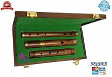 Wooden Hard Case//D Flute SL Professional Irish D Flute Rosewood Natural Finish