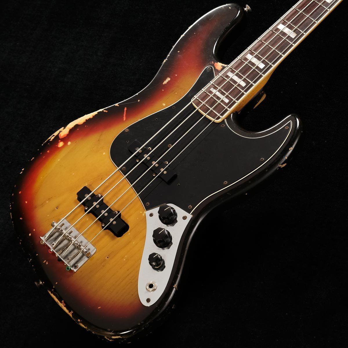Fender 1978 Jazz Bass 3ToneSunburst JAPAN beautiful rare EMS F S
