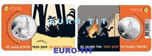 BELGIQUE-PIECE-DE-5-EURO-TINTIN-6250-EX-2019-disponible