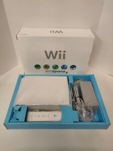 Nintendo Wii Sports White Home Console mostly in plastic Fantastic condition