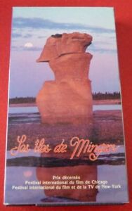 Rare-VHS-French-Movie-Les-iles-de-Mingan