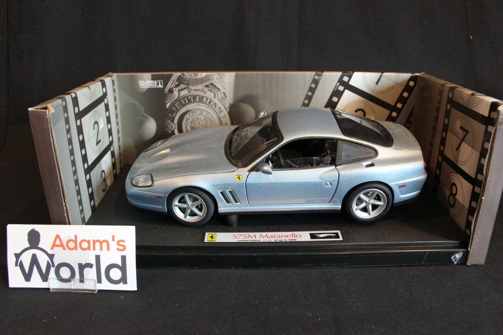 Hot Wheels Elite Ferrari 575M Maranello 1 18  Bad Boys II  (PJBB)