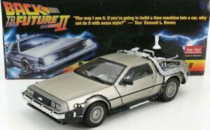 Car Metal Delorean 2 Back to the Future II 1/18