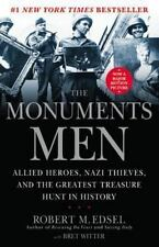 THE MONUMENTS MEN by Robert M Edsel paperback book WWII art nazi