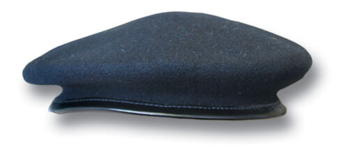 19001 1 NEW NAVY ISSUE BERET NAVY BLUE COLOUR WOOL