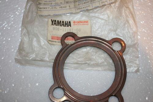 vintage Yamaha snowmobile nos head gasket gp gs sl ss 338 806-11181
