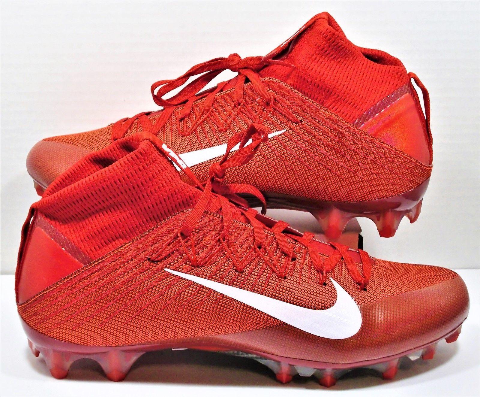 Nike Vapor Unantastbar 2 Universität Rot Rot Rot Fußball Stollenschuhe 824470 616 Größe dfce4b