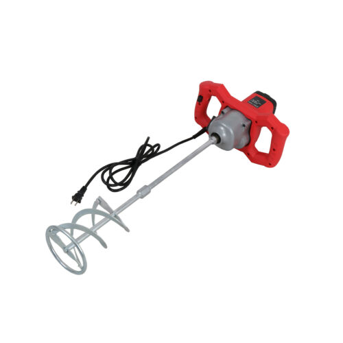 1600W 110V 7 Speed Power Electric Mixer with Mixing Paddle Thinset Grout Mortar