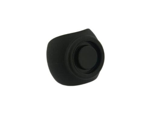 4 x Kugelschalengleiter PA Ø 21-24 mm schwarz Zapfen Stuhl Freischwinger klemmen