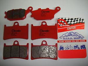 F+R Sintered Brake Pads For Yamaha R6 YZF-R6 2003 2004 2005 06 07 2008 2009-2018