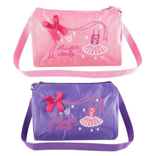 Girl Kids Dance Ballet Swim Bag Backpack Embroidered Tote Ballet Shoulder Bag