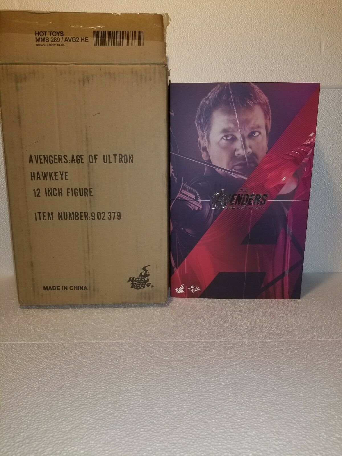 Hot Toys Age Of Ultron Hawkeye 1 6 Scale