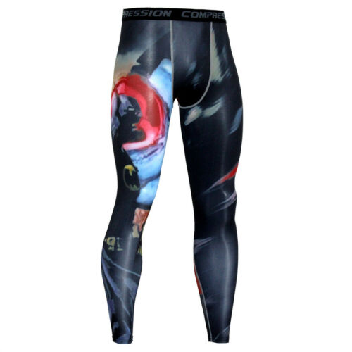 Men Compression Under Tight Long Leggings Base Layer Pants Gym Sports Trousers