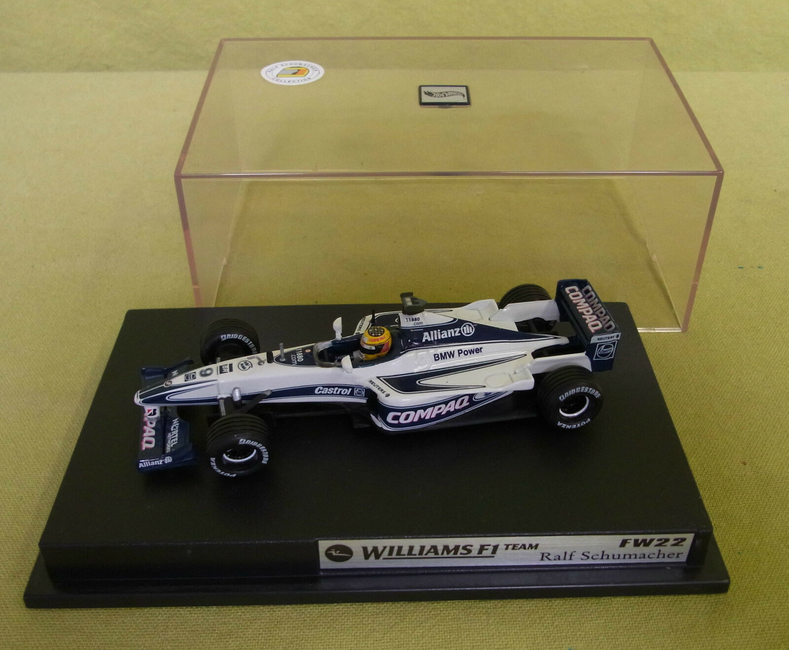 Hot Wheels - R. Schumacher Collection Collection Collection - Williams F1 Team FW22 - R. Schumacher be5a3c