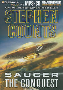 Steven-Coonts-Saucer-The-Conquest-MP3-CD-Audio-Book-Unabridged-FASTPOST