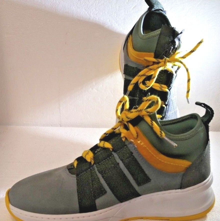 FILLING PIECES TRACE SHARK RUNNER DESECT ARMY GREEN, Size 38