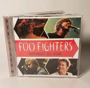 DVD-De-Musica-Foo-Fighters-en-todas-partes-pero-Hogar-dvd-2003-Estuche-de-Usados