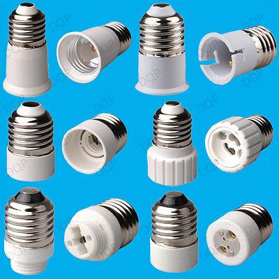 40 x BC baïonnette B22 à ES E27 ampoule lampe d/'adaptateur montage Support de convertisseur