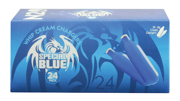 600 SPECIAL BLUE whip cream chargers. 1 CASE. For fresh whipped cream