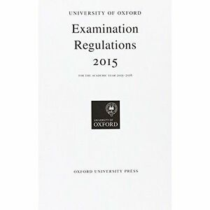 University-of-Oxford-Examination-Regulations-2015-Oxford-University-Exam-Regula