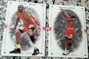 MICHAEL-JORDAN-1998-UD-SP-Authentic-Card-LOT-Chicago-Bulls-6x-Champs-HOF-MVP