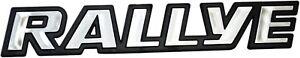 Auto-3D-Relief-Schild-RALLYE-chrom-Rally-Aufkleber-18-x-3-cm-HR-Art-1453919