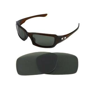 25acff9bcf8 Image is loading NEW-POLARIZED-G15-REPLACEMENT-LENS-FOR-OAKLEY-FIVES-