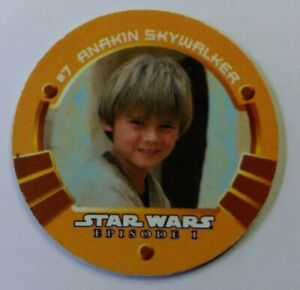 Rare-1999-KFC-Taco-Bell-Star-Wars-Episode-1-Game-Medallion-Anakin-Skywalker-7