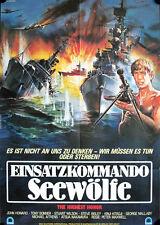 Einsatzkommando Seewölfe Filmposter A1 The Highest Honor John Howard Steve Bisle