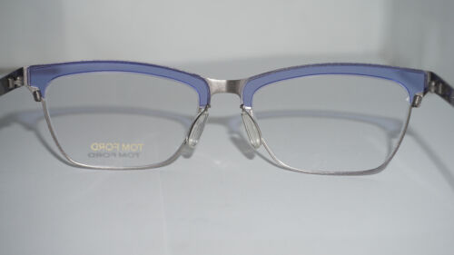 a578a09b60b 9 of 10 TOM FORD RX Frame Eyeglasses New Blue Silver FT5392 V 080 54 18 135