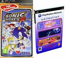 sonic rivals 2 & Network Beats & Flow & Syphon Filter Combat   new&sealed