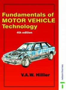 Hilliers fundamentals of motor vehicle technology 6th edition book 3