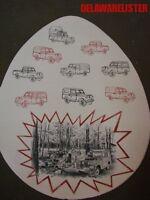 Vintage Land Rover Jeep/car Sales Brochure 1960's 88 Station Wagon Easter Sale
