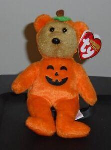 0ba991af081 Image is loading Ty-Halloweenie-Beanie-Baby-TREATSIES-the-Bear-5-