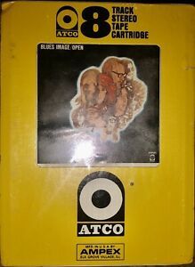 SEALED-BLUES-IMAGE-OPEN-8-TRACK-TAPE-UNOPENED-NEW-ATCO-M-8317-AMPEX-LOOK