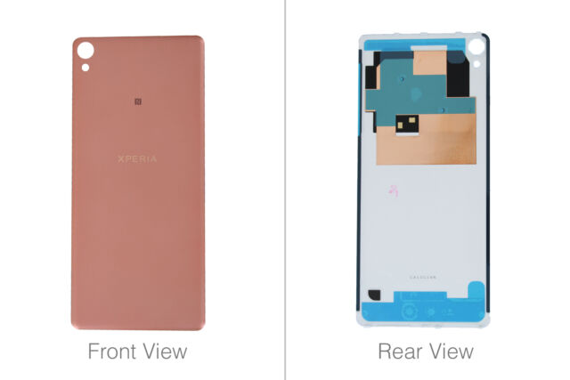 Genuine Sony Xperia XA F3111, F3112 Rose Gold Battery Cover - 78PA3000020