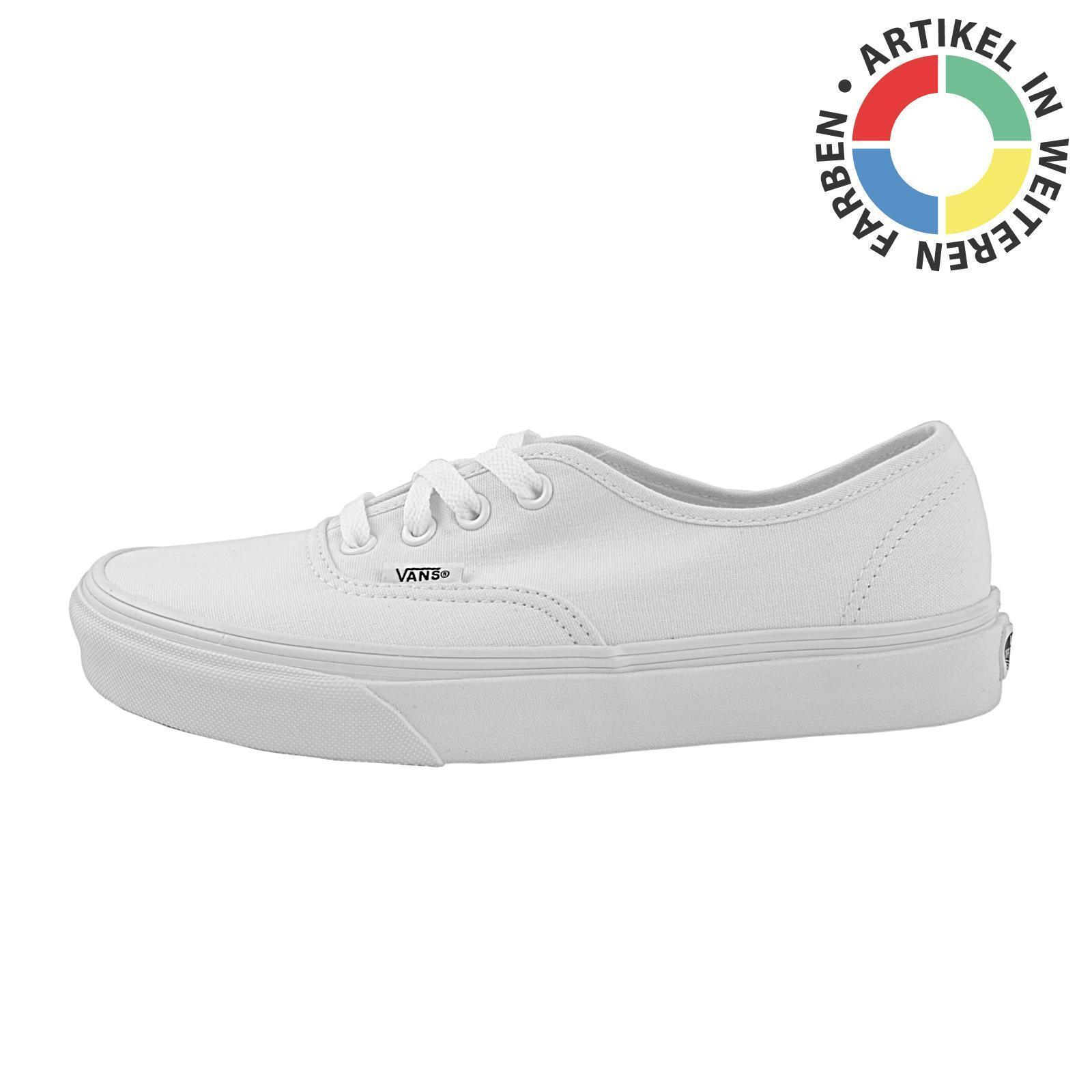 Vans Authentic Sneaker Herren Skater Schuhe, verschied. Farben, 50484