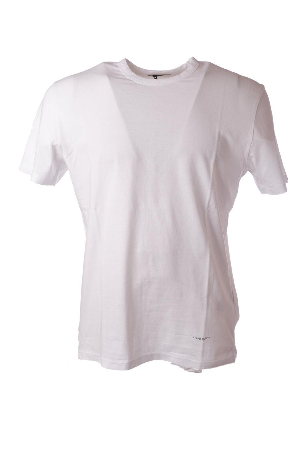 Paolo Pecora - Topwear-T-shirts - Mann - white - 5039426E183521