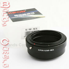 Kipon Konica AR lens to Sony E Mount NEX Adapter NEX-5T 6 7 A7 A7R A6000 A5100