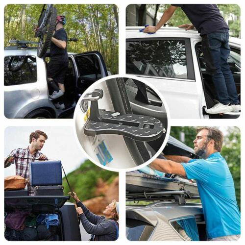 Auto Türschwelle Fahrzeug Türstufe Fußpedal Auto Dach Tür Pedal Multifunktion DE