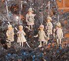 Gisela Graham Pastel Victorian Children Christmas Tree Decoration
