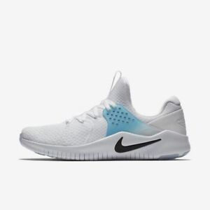 00a4dc350b7b Men s Nike Free TR Trainer V8 Training Shoes White   Blue Sz 8.5 ...