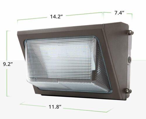 80Watt Outdoor Led Wall pack Light 5000K UL DLC Certified replace 400W MH Ip65
