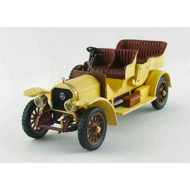 RIO RI4392 MERCEDES TOURISME 1909 giallo 1 43 MODELLINO DIE CAST MODEL