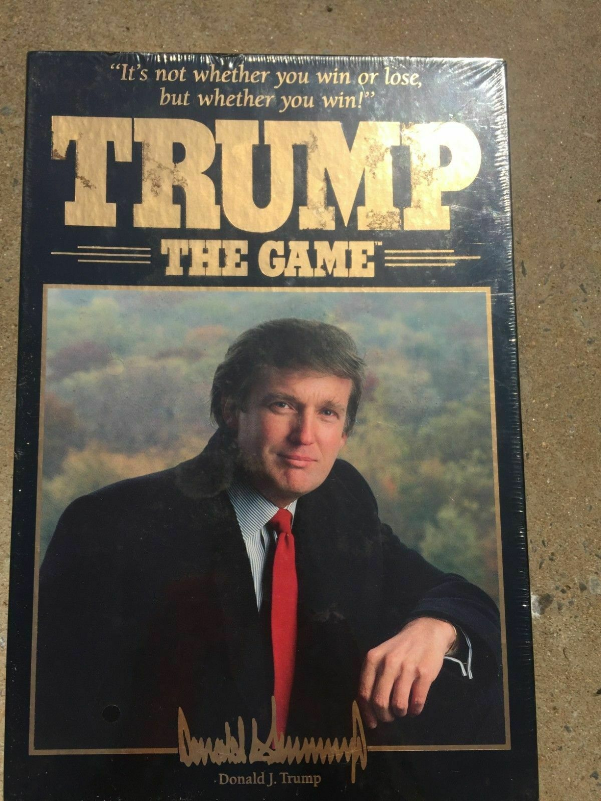 Trump The Game Vintage 1989 Factory Sealed Collectors Item