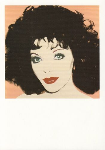 "Original High Quality 6/"" x 4 National Portrait Gallery Postcard JOAN COLLINS"