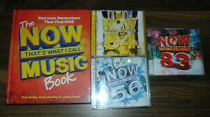 Now-thats-what-i-call-music-book-For-All-Music-Lovers-amp-3-NOW-CD-54-56-83