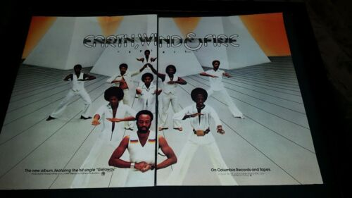 Earth, Wind, And Fire Spirit Rare Original Promo Poster Ad Framed!