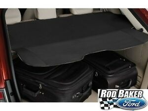 Image Is Loading   Ford Edge Cargo Security Shade Black