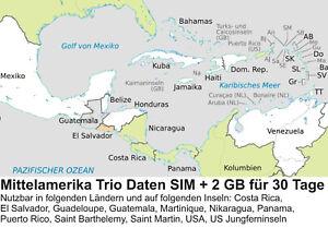 Costa Rica Karte Mittelamerika.Details Zu Mittelamerika Daten Sim Karte 2 Gb Für 30 Tage Standard Micro Nano